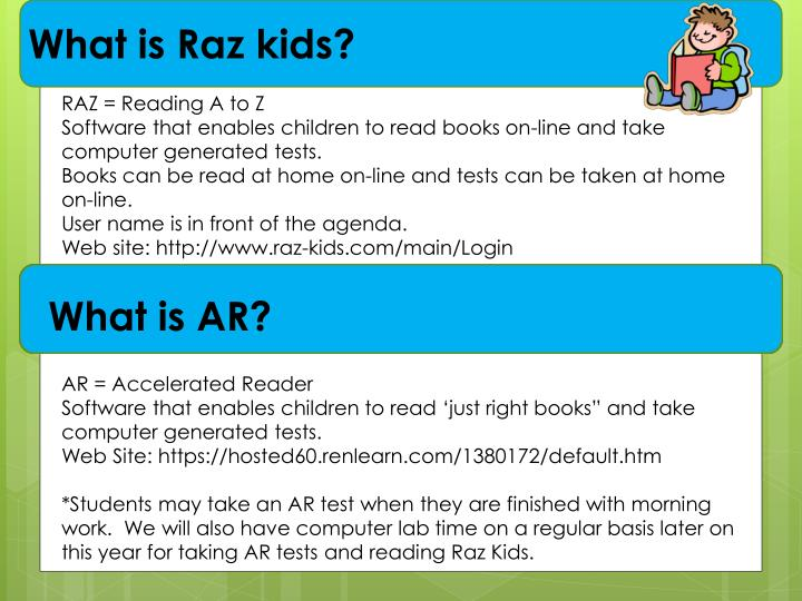 What is Raz kids?