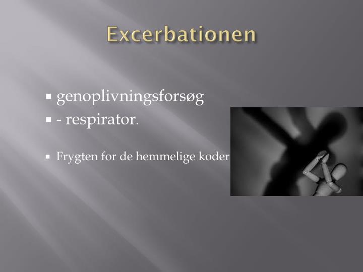 Excerbationen