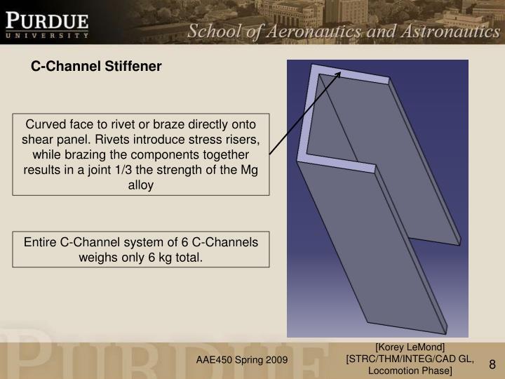 C-Channel Stiffener