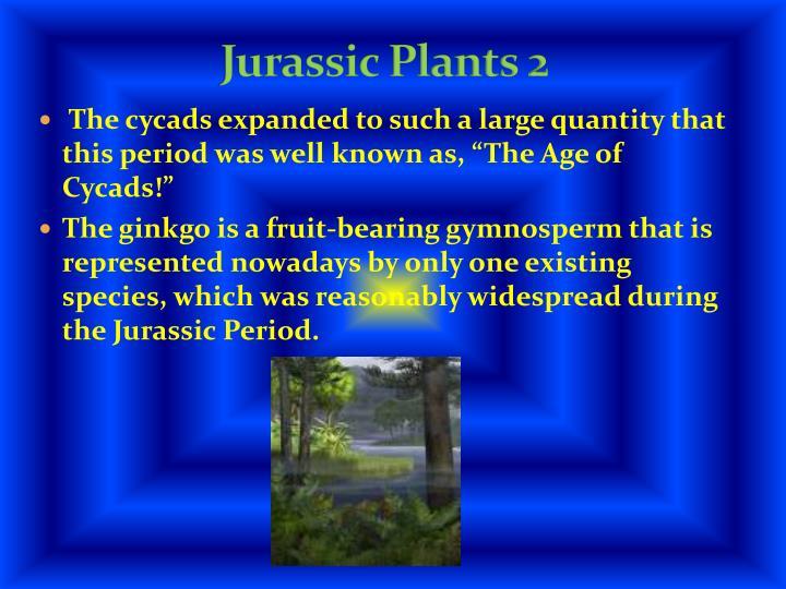 Jurassic Plants 2