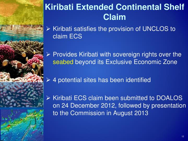 Kiribati Extended Continental Shelf Claim
