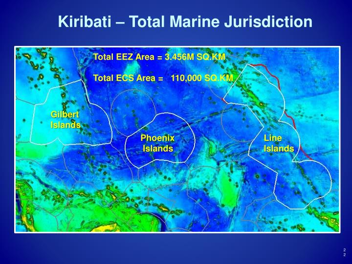 Kiribati – Total Marine Jurisdiction