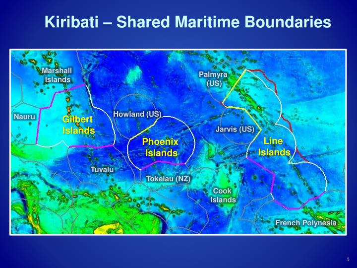 Kiribati – Shared Maritime Boundaries