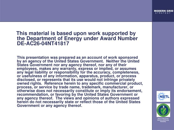 This material is based upon work supported by the Department of Energy under Award Number DE-AC2...