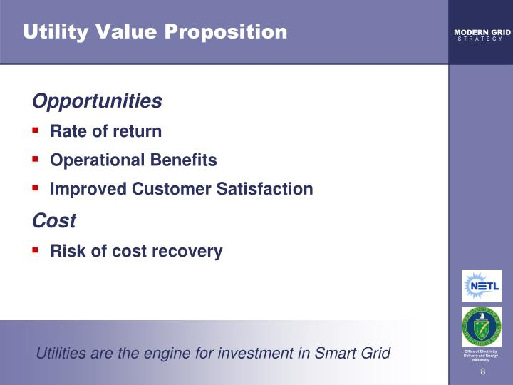 Utility Value Proposition