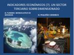indicadores econ micos 7 un sector terciario sobredimensionado