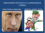 indicadores pol ticos 7 la democracia formal