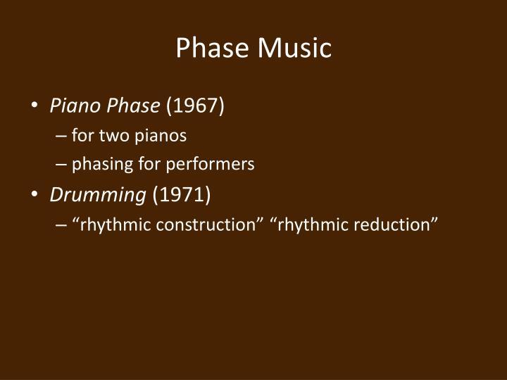 Phase Music