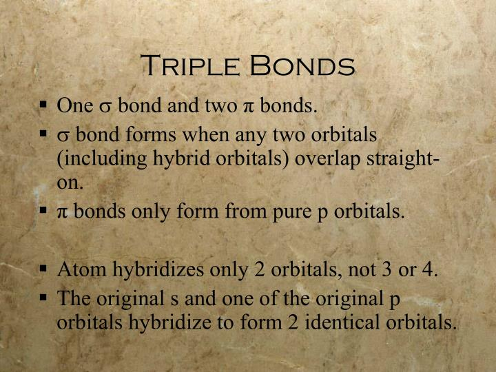 Triple Bonds