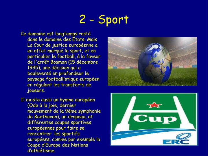 2 - Sport