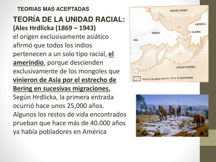 TEORIAS MAS ACEPTADAS