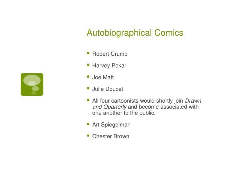 Autobiographical Comics