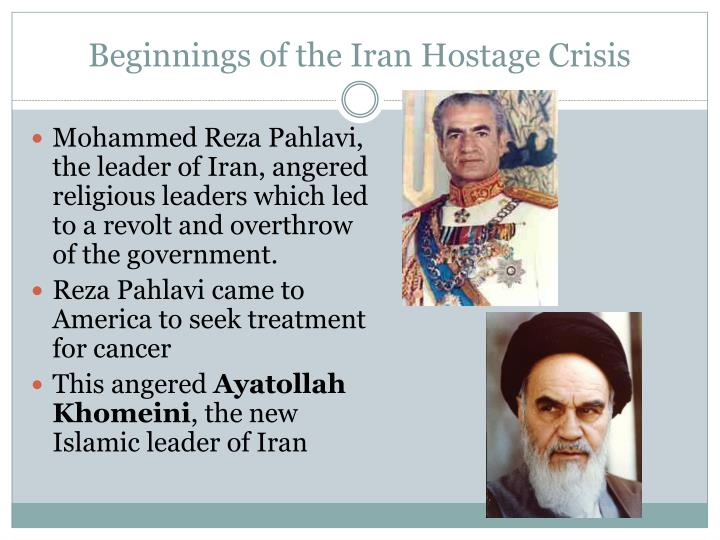 Beginnings of the Iran Hostage Crisis