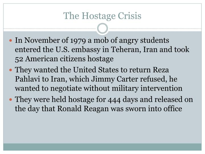 The Hostage Crisis