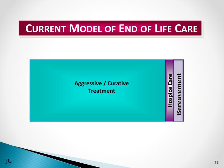 Current Model of End of Life Care