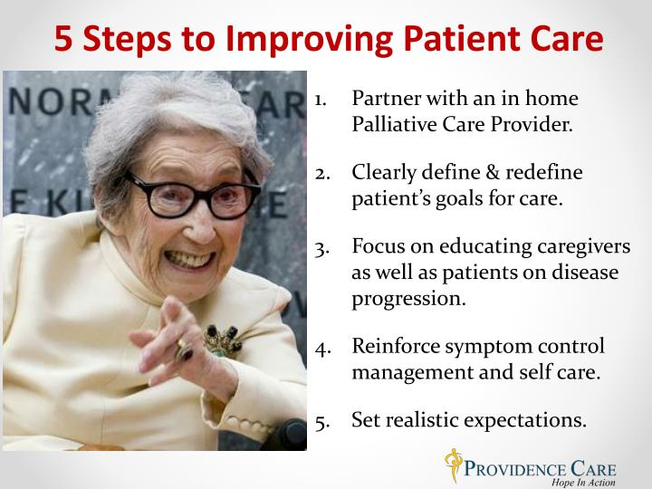 5 Steps to Improving Patient Care