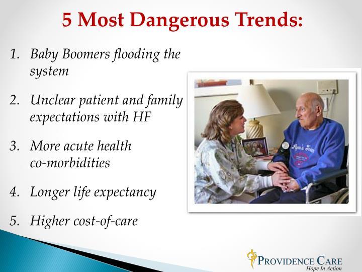 5 Most Dangerous Trends: