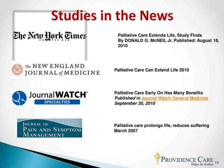 Studies in the News