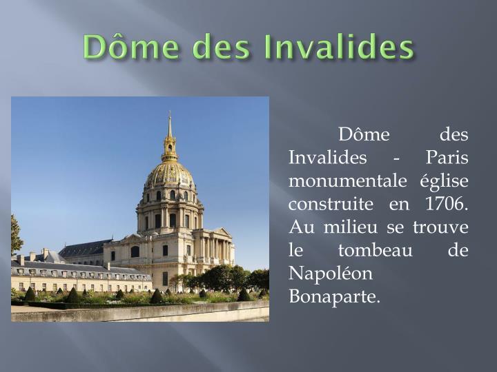 Dôme des Invalides