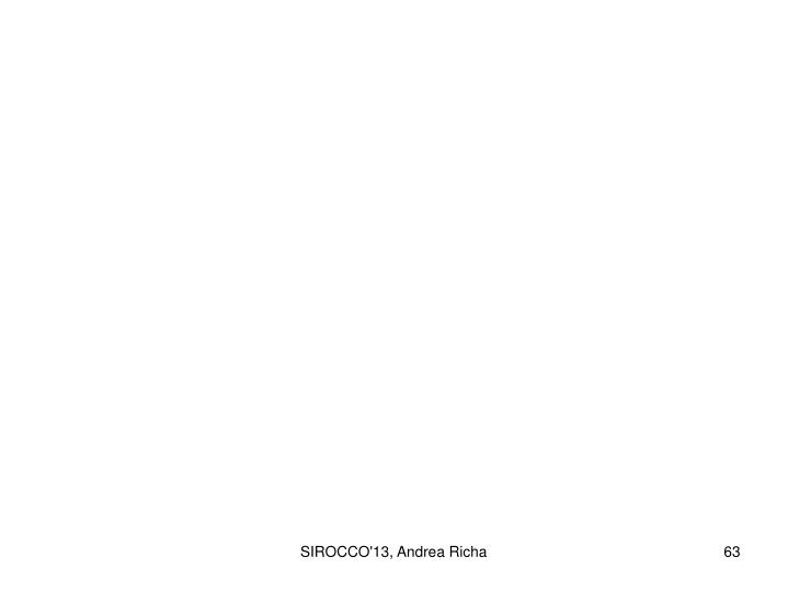 SIROCCO'13, Andrea Richa