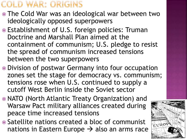 Cold War: Origins