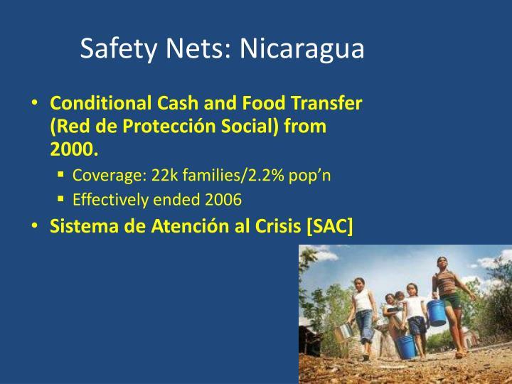 Safety Nets: Nicaragua
