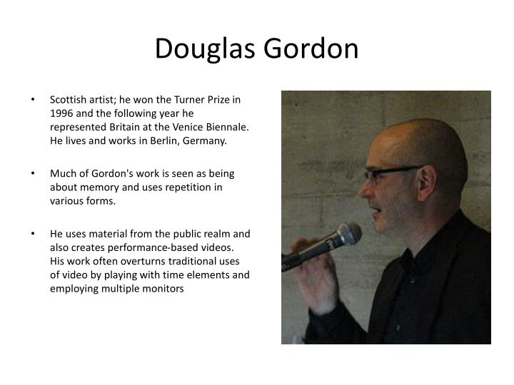 Douglas Gordon