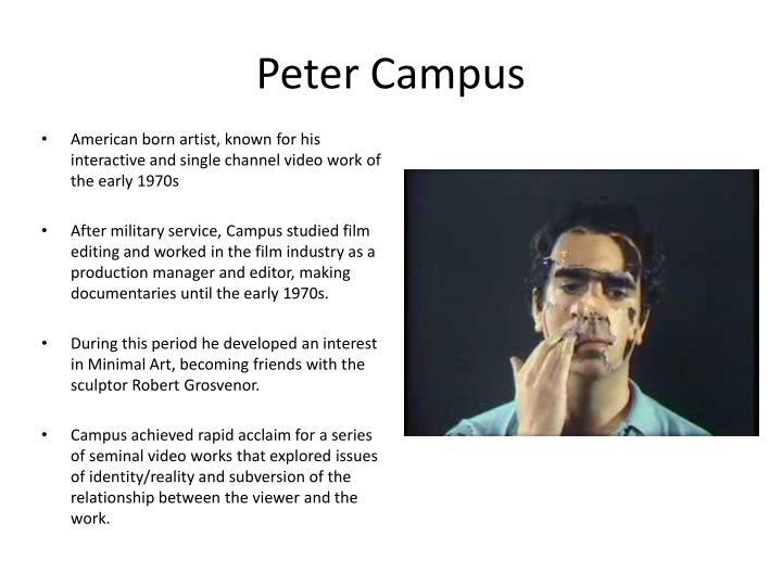 Peter Campus