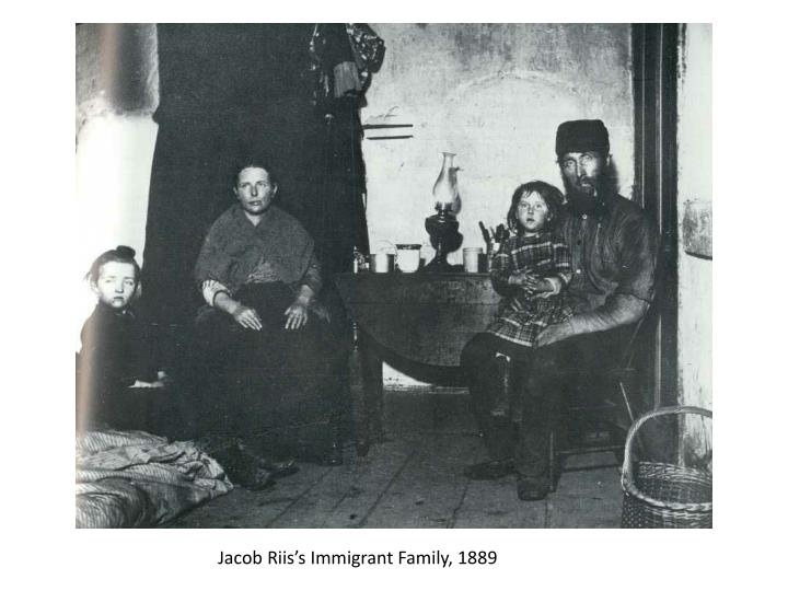 Jacob Riis's Immigrant Family, 1889