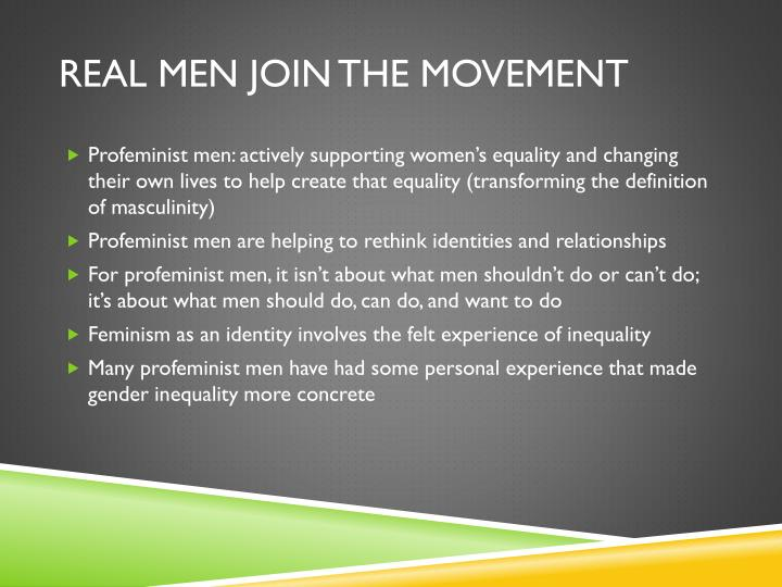Real Men join the movement