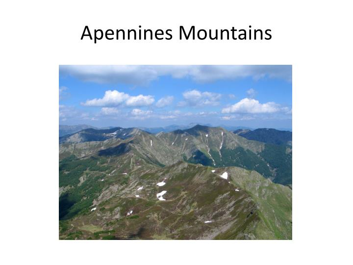 Apennines Mountains