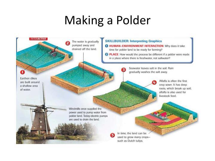 Making a Polder