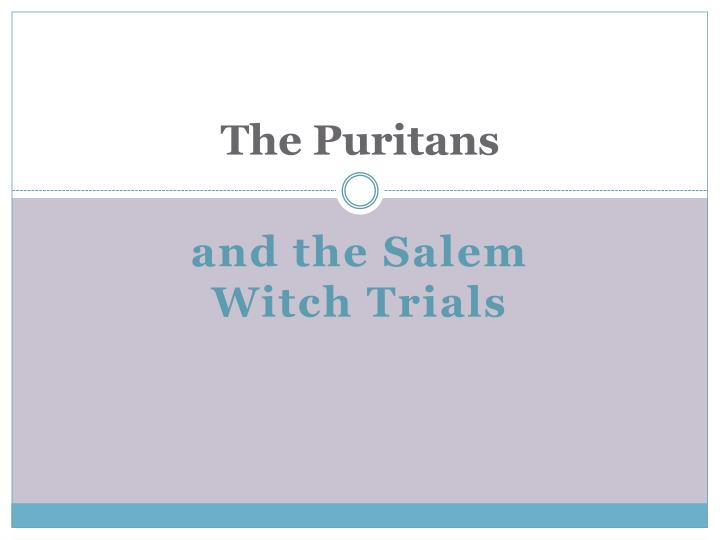 puritan ideology essays Basic concepts of puritan ideologywhy were puritans left england :we can generally explain puritans as a group of people who left their own land, (england) because of their.