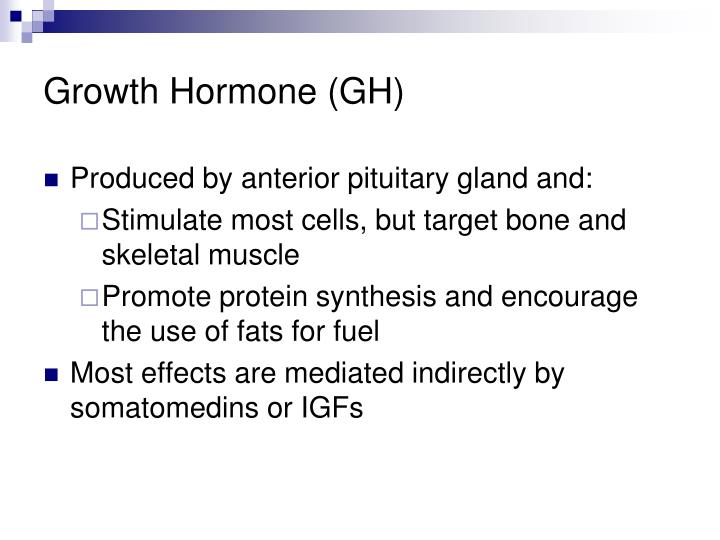 Growth Hormone (GH)