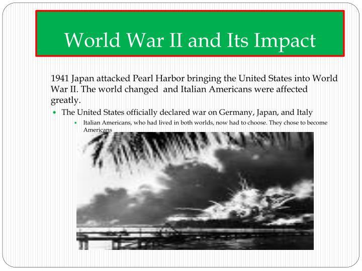 World War II and Its Impact