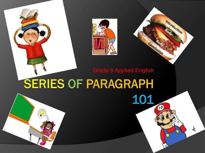 paragraph writing ppt presentations