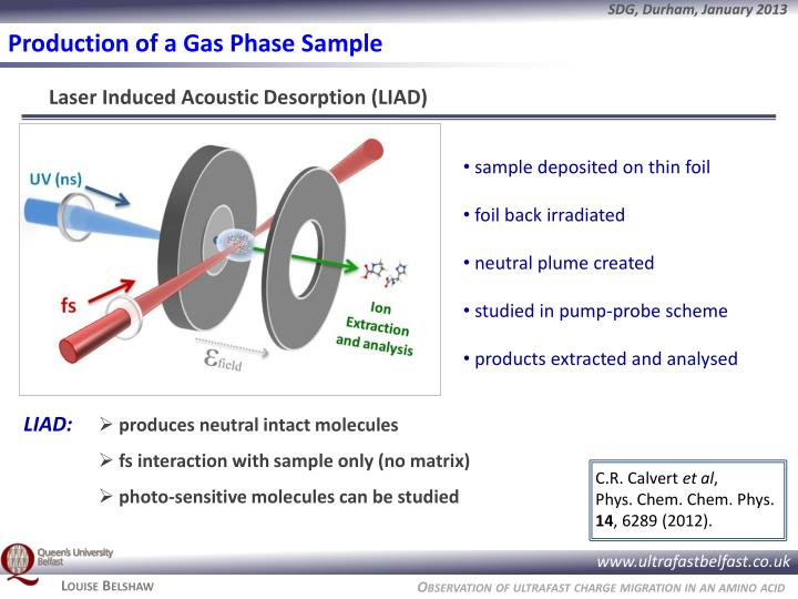 Production of a Gas Phase Sample
