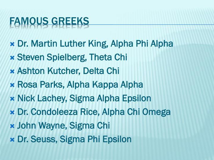 Dr. Martin Luther King, Alpha Phi Alpha