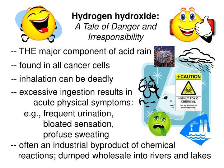 Hydrogen hydroxide: