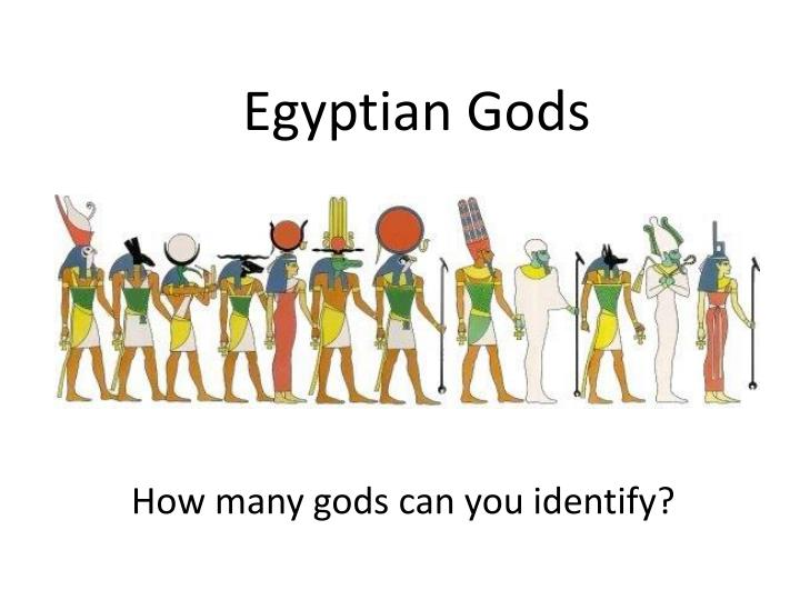 How many gods can you identify?
