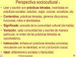 perspectiva sociocultural 4