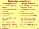 perspectiva sociocultural 9