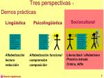 tres perspectivas 1