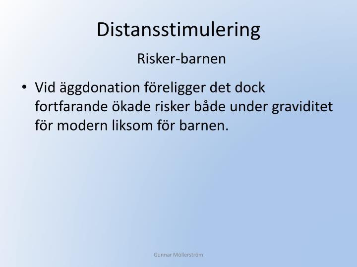 Distansstimulering