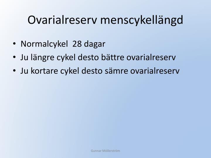 Ovarialreserv