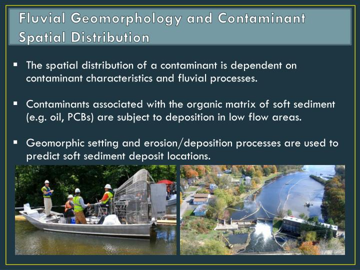 Fluvial Geomorphology and Contaminant Spatial Distribution