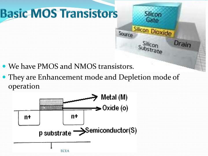 Basic MOS Transistors