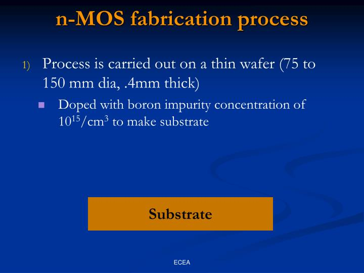 n-MOS fabrication process