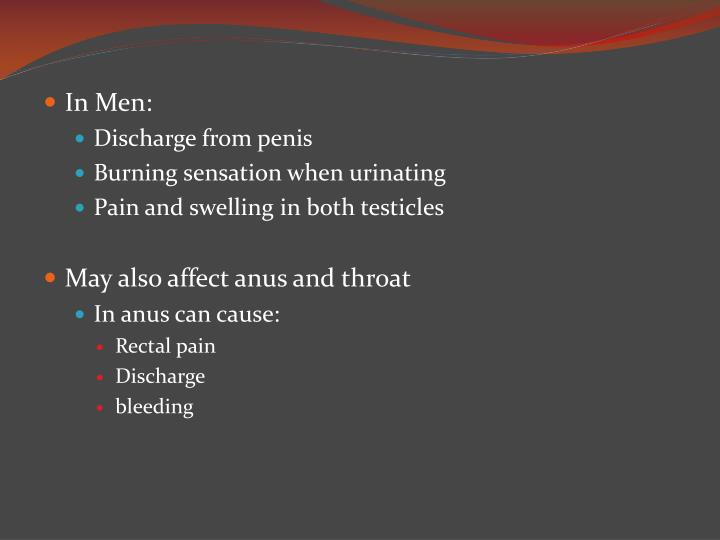 In Men: