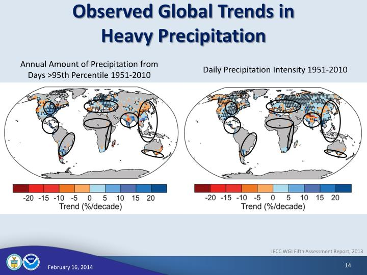 Observed Global Trends